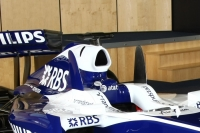 New skate fins on the Williams FW31