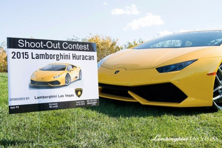 Win A Huracan For Scoring A Hole In One Lamborghini Las Vegas Says Autoevolution