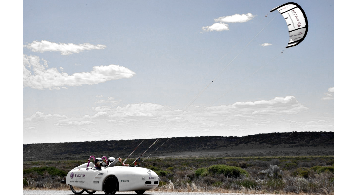 Wind Power Helps 'Wind Explorer' Travel 3,000 Miles for Less than $15
