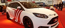 Wolf Racing Ford Focus ST 370 Estate at Essen 2013 [Live Photos]