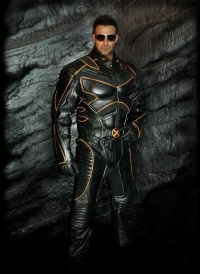 Wolverine motorcycle suit photo