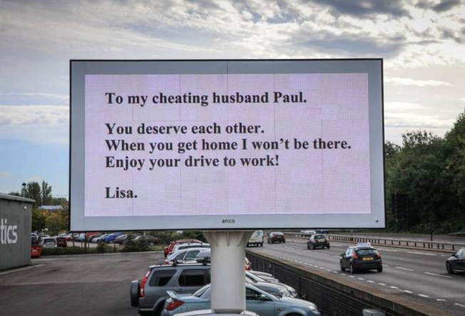 Woman Announces Cheating Husband She S Leaving Him On