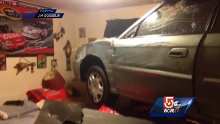 . Woman Crashes Car Into Elderly NASCAR Fan s Bedroom   autoevolution