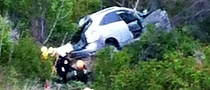 Woman Drives Lexus RX 300 Feet Down into Malibu Canyon, Survives