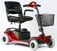 Supermarket mobility scooter