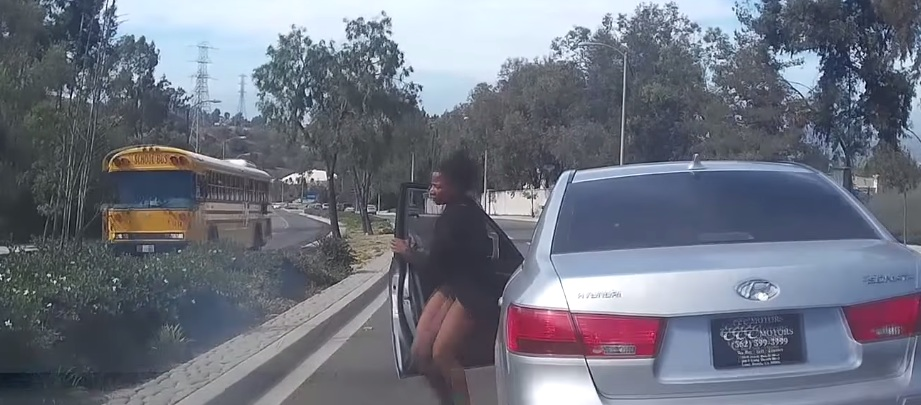UPDATED: Woman Jumps Out of Her Moving Hyundai in California, Car