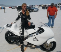 Leslie Porterfield, 2008 AMA Racing Female Rider of the Year