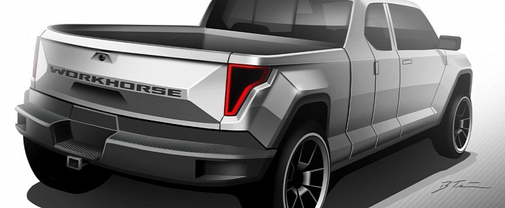 Mercedes Long Beach >> Workhorse Electric Pickup Truck Will Get Working Concept In May 2017 - autoevolution