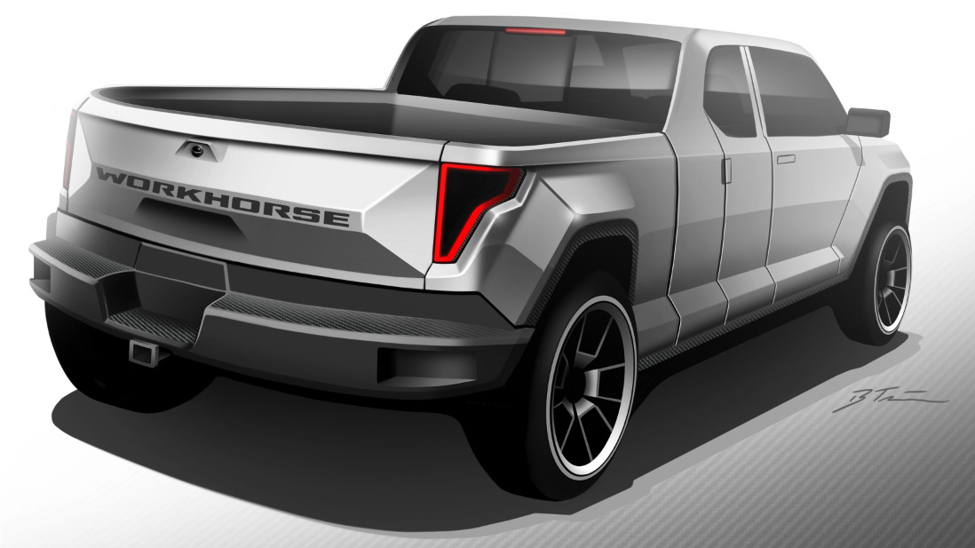 workhorse electric pickup truck will get working concept in may 2017 autoevolution. Black Bedroom Furniture Sets. Home Design Ideas