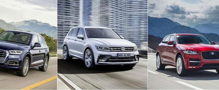 world car of the year short list q5 f pace and tiguan fight for top position autoevolution. Black Bedroom Furniture Sets. Home Design Ideas