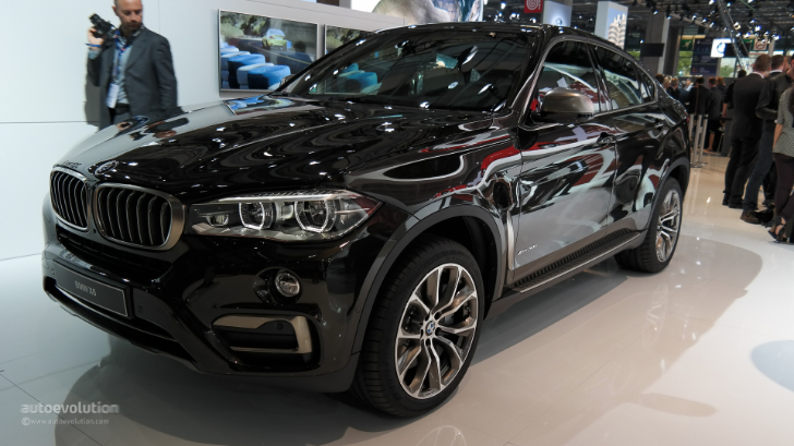 World Debut 2015 Bmw X6 In The Flesh At Paris Motor Show Live Photos Autoevolution