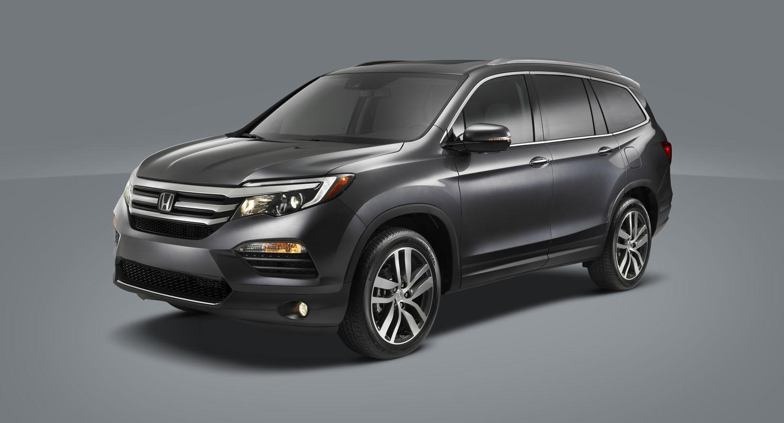 world debut for the 2016 honda pilot at the chicago auto show autoevolution. Black Bedroom Furniture Sets. Home Design Ideas