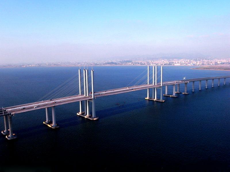 World Records The Longest Sea Bridge In The World