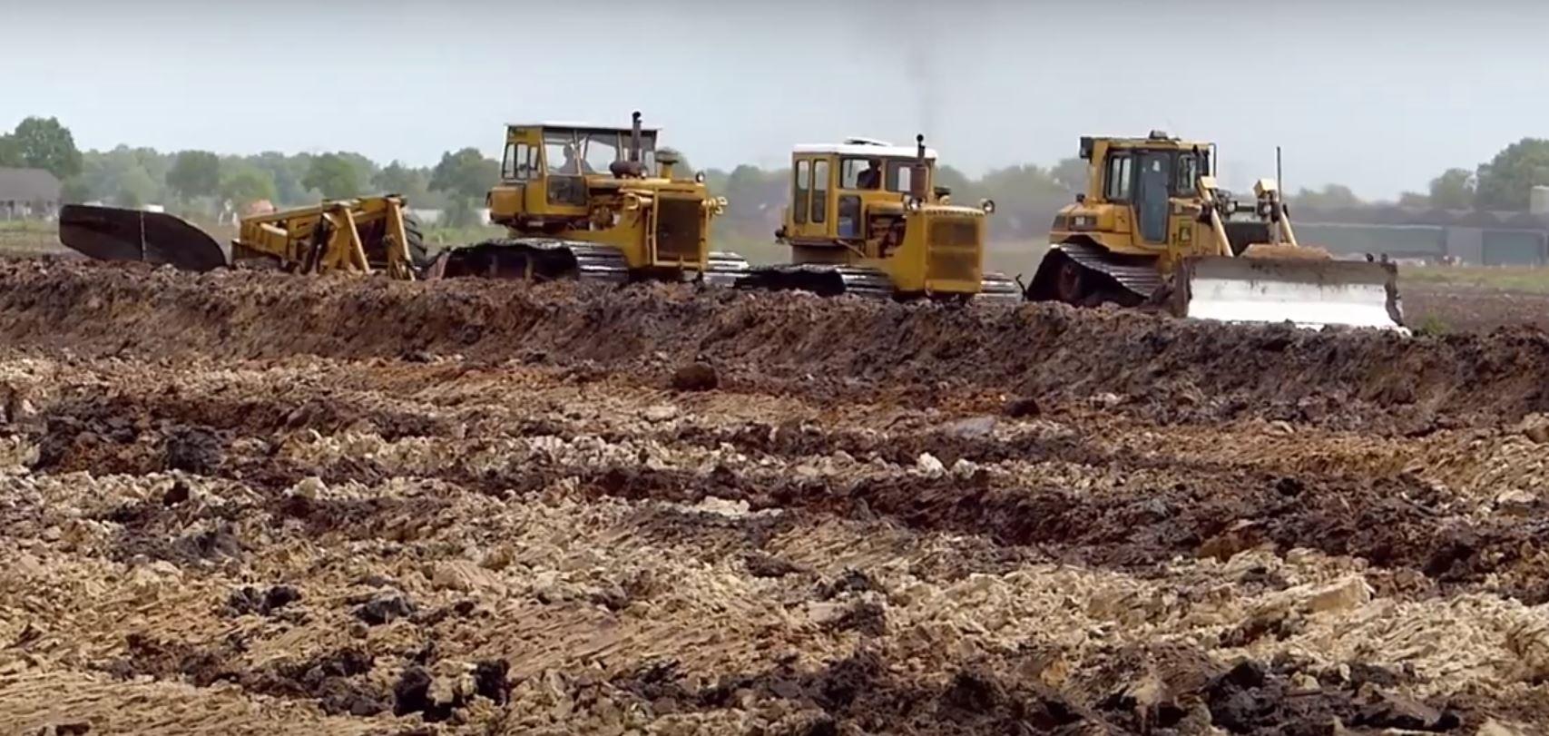 World's Biggest Plow Goes 2M Deep, Requires Three Tractors