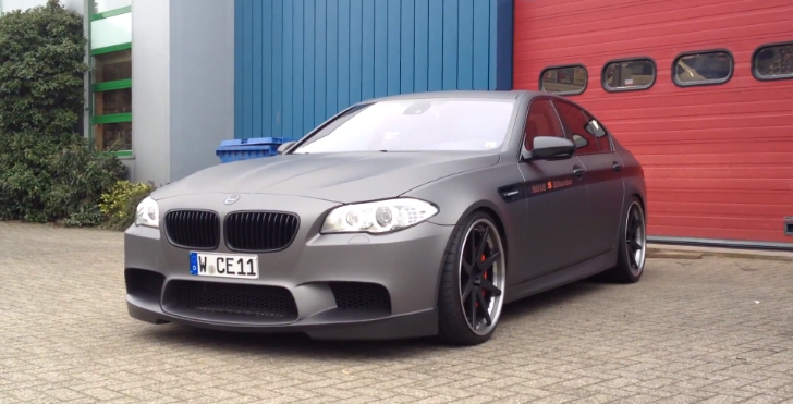 World's Fastest BMW F10 M5: Manhart Racing's MH5 [Video]