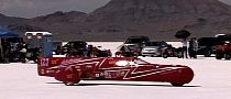 World's Fastest Electric Sidecar Motorcycle Does 212 MPH [Video]