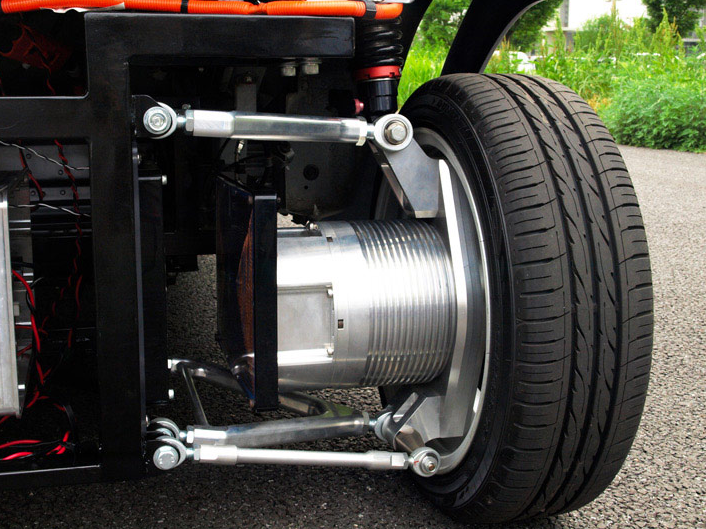 World S First Wireless In Wheel Electric Motor Comes From