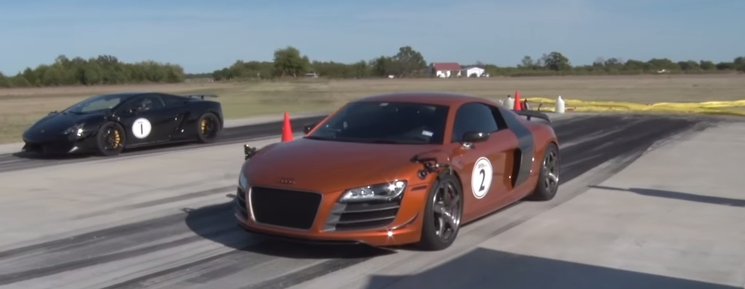 World's Fastest Audi R8 Has 2,000+ HP, Eats GT-Rs and Lamborghinis