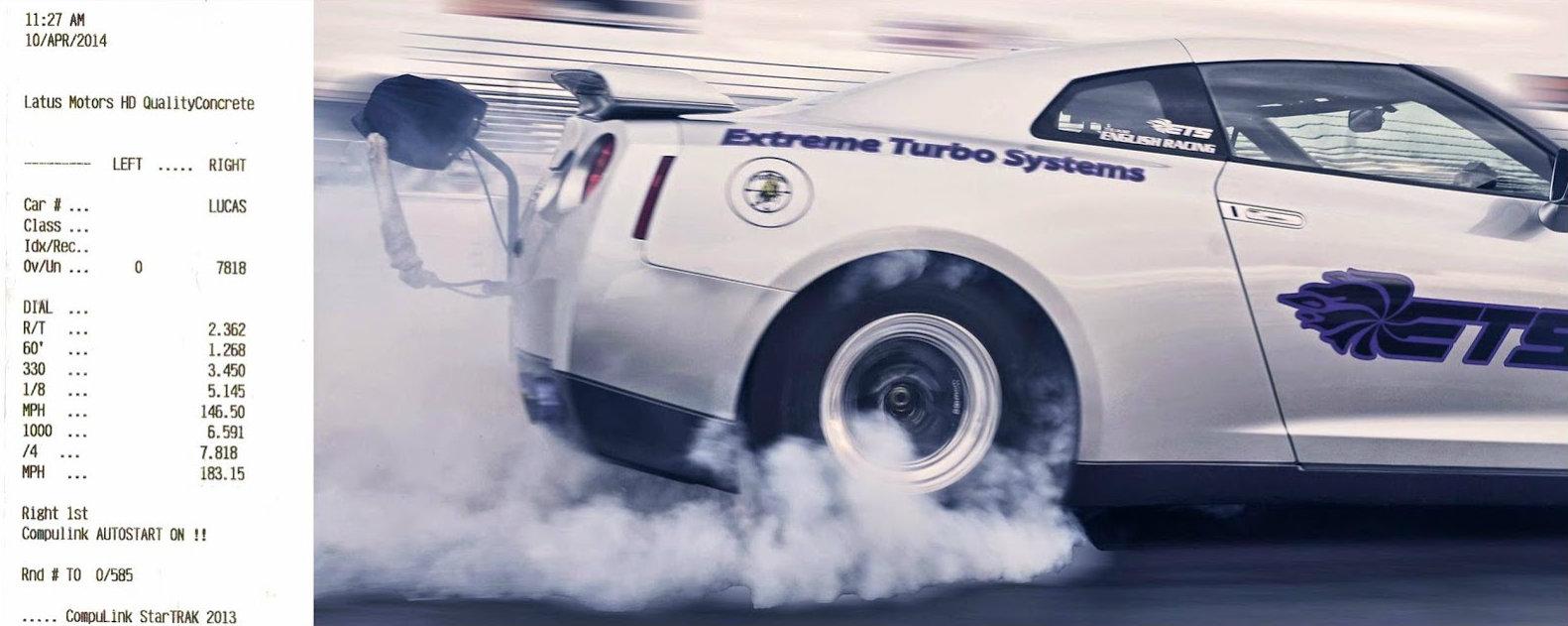 World's Fastest Nissan GT-R Pulls 7 81s Quarter Mile