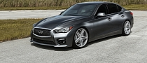 World's First Modified 2014 Infiniti Q50 S Gets Vossen Concave Wheels [Video] [Photo Gallery]