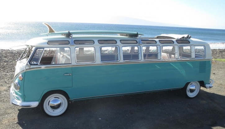 World's Only 1965 Volkswagen Stretch Bus Fits 12 Passengers, Is Up for Grabs