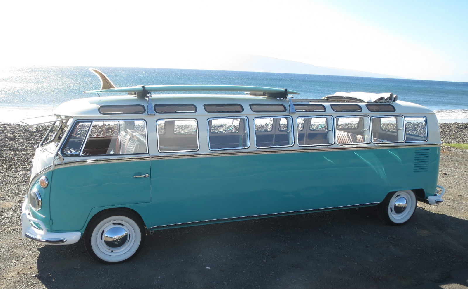World S Only 1965 Volkswagen Stretch Bus Fits 12 Passengers Is Up