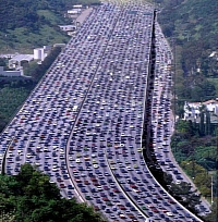 California traffic!