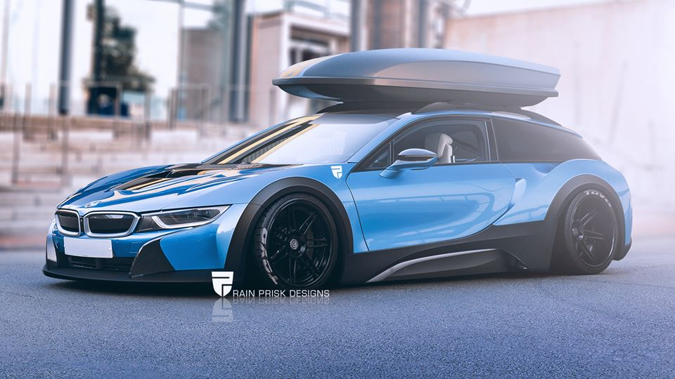 Would You Buy A Shooting Brake Bmw I8 Autoevolution
