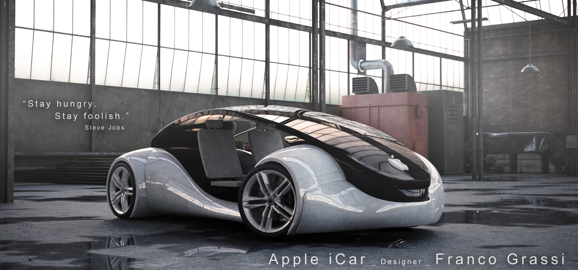 Would You Buy an Overpriced Car Made by Apple? - autoevolution