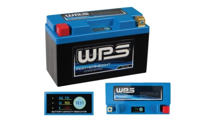 WPS Featherweight Lithium Batteries Promise 90% Charge in 6 Minutes
