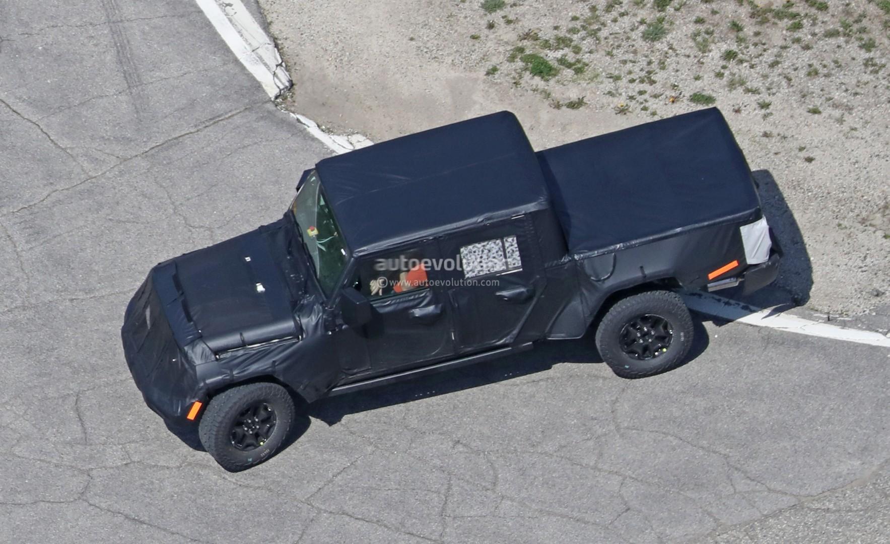 ... 2019 Jeep Wrangler Pickup Truck Spied ...