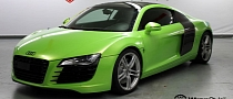WrapStyle Does the Audi R8 in Toxic Green