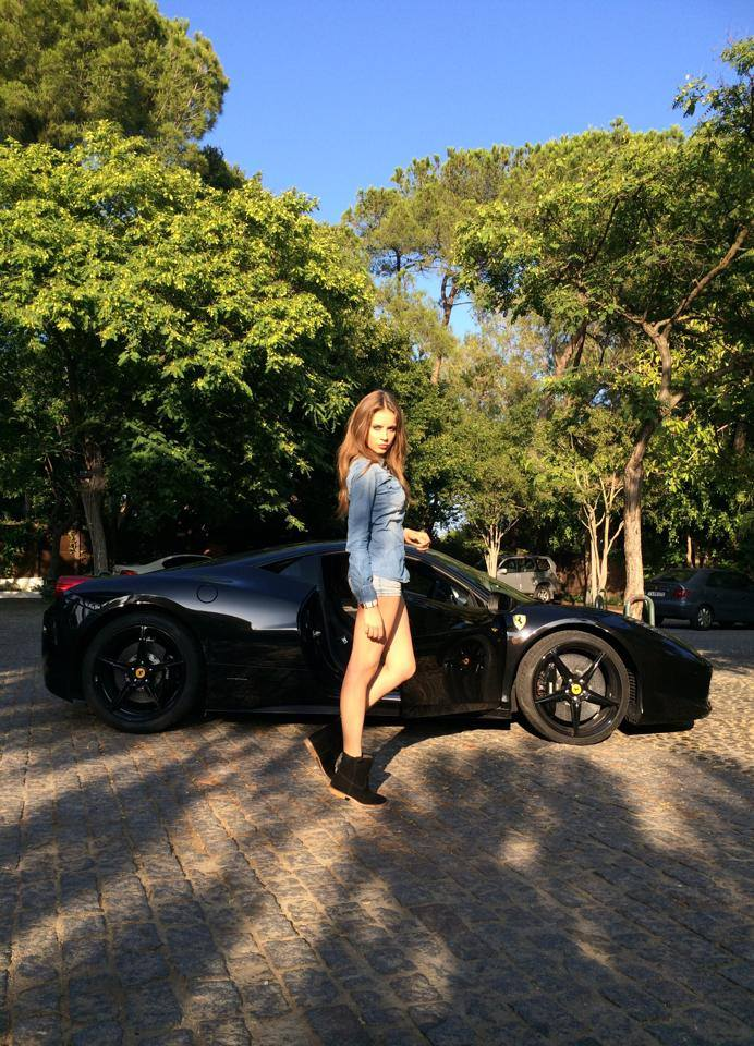 Xenia Is A Russian Model Who Speaks Languages And Drives Cool - Cool car models