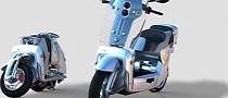 XOR XO2, the Amazing Folding Electric Scooter [Video][Photo Gallery]