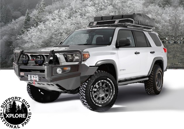 xplore puts hair on toyota 4runner s chest autoevolution. Black Bedroom Furniture Sets. Home Design Ideas