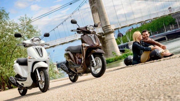 Yamaha Announces the D'elight Scooters [Photo Gallery]
