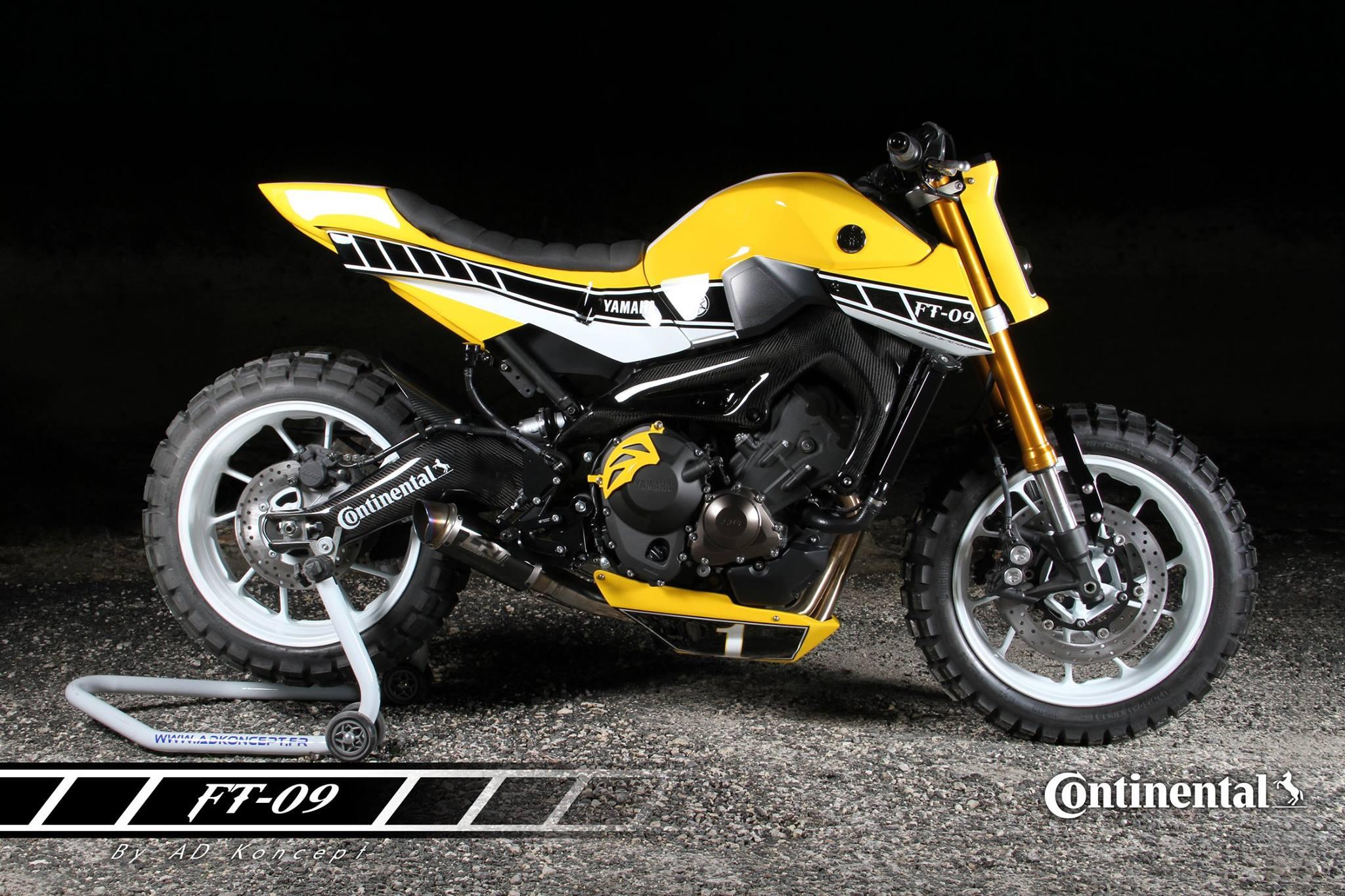 Yamaha  Flat Tracker