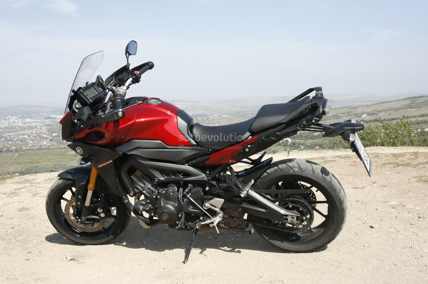 yamaha mt09 tracer first ride impressions