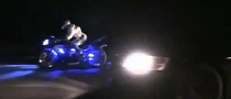 Yamaha R1 Smokes Evo in Highway Run [Video]