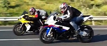 Yamaha R1 vs BMW S1000RR vs Nissan GTR [Video]