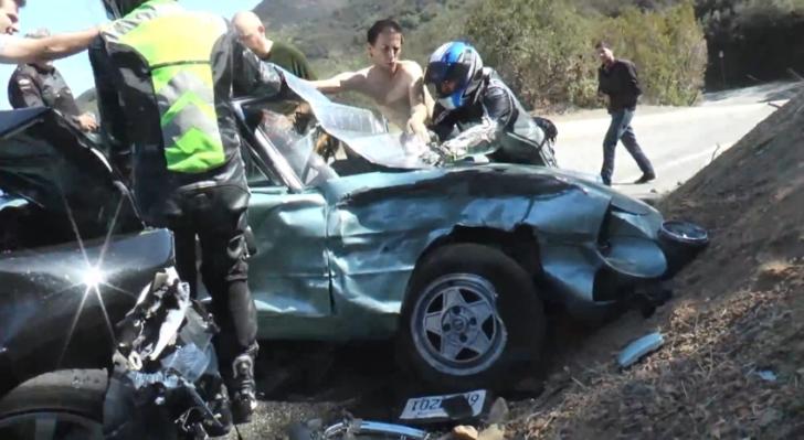 Yamaha R6 And Bmw Crashed Into By Alfa Romeo Autoevolution