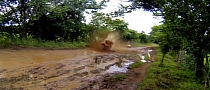 Yamaha Raptor 700R Crashes Very Hard in the Mud [Video]