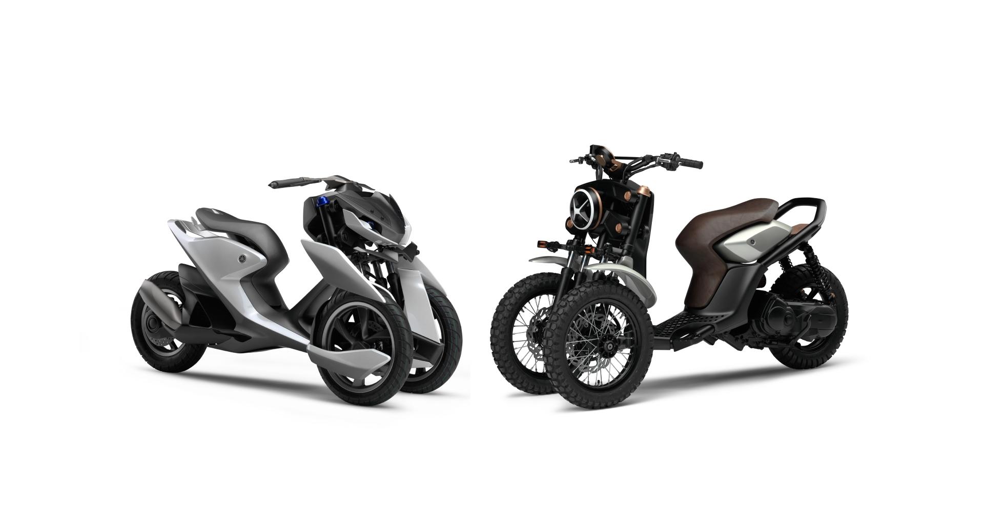 Wheeled Motorcycle Yamaha