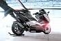 Yamaha TMAX Hypermodified by Larazeth Is A 200 km/h (124 mph) Scooter [Video][Photo Gallery]
