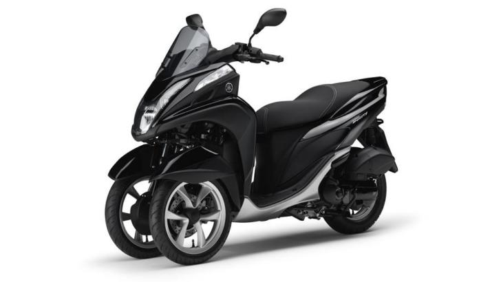 yamaha tricity 125 arrives in europe this month price revealed autoevolution. Black Bedroom Furniture Sets. Home Design Ideas