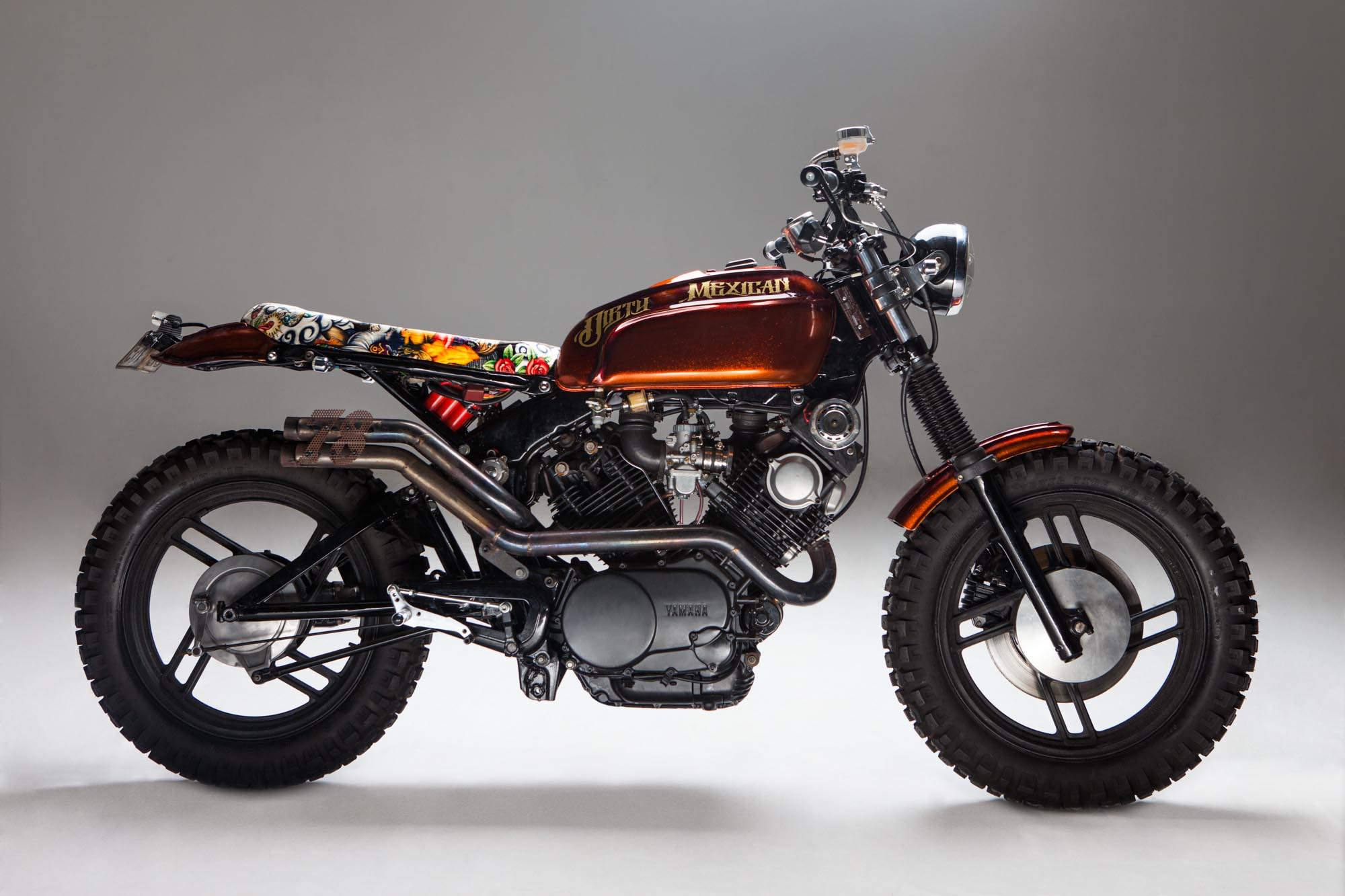 Build A Honda >> Yamaha Virago 750 Custom Scrambler Leaves You Drooling ...