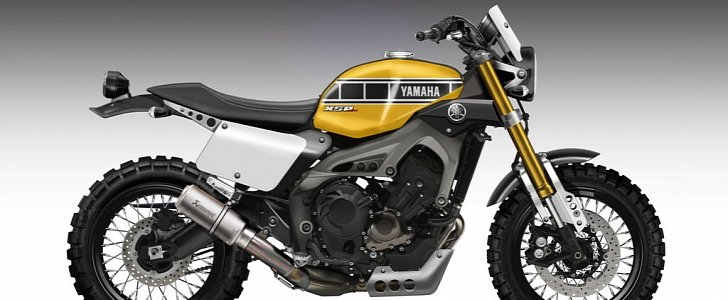 Yamaha Xsr900 Scramblers Rendered Autoevolution