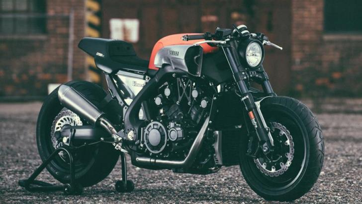 Yamaha VMAX INFRARED Looks Even Meaner Than The Carbon Version
