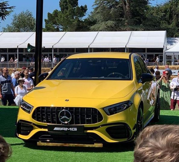Yellow 2020 Mercedes Amg A45 Looks Electrifying On The