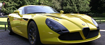 Yellow Alfa Romeo TZ3 Stradale by Zagato [Video]